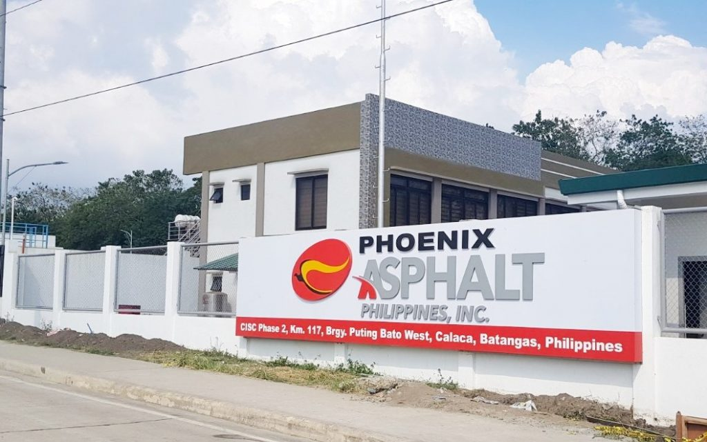 Phoenix starts operation of asphalt facility