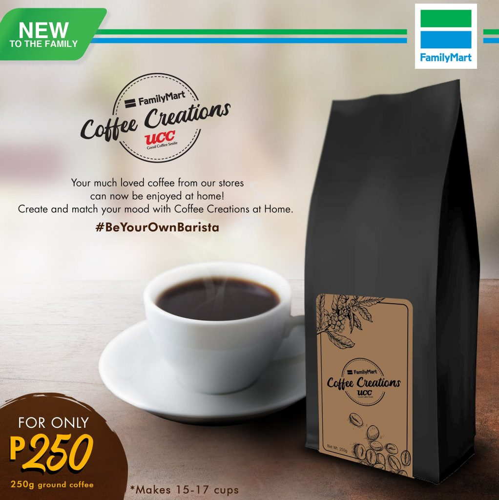 Be your own barista with FamilyMart's Coffee Creations At Home