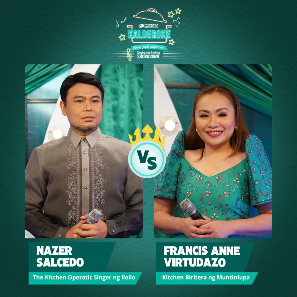 Two best Pinoy singing cooks to battle for Phoenix SUPER LPG's Kalderoke grand finals