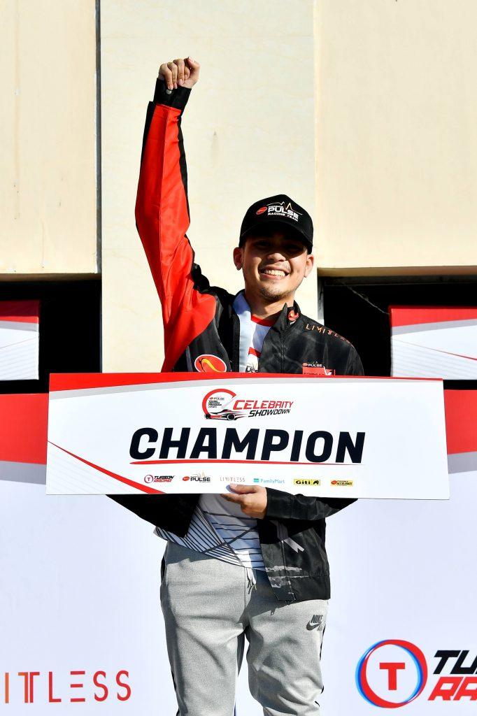 Vitto Marquez wins Phoenix PULSE Young Drivers' Program Celebrity Showdown