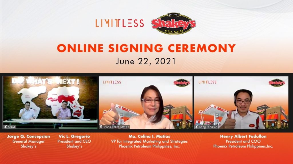 LIMITLESS partners with Shakey's for new promo