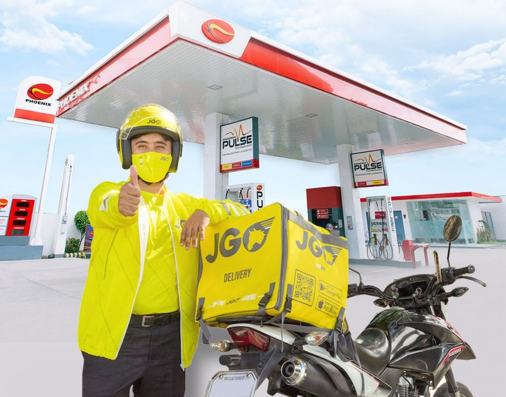 Phoenix, JGO Delivery roll out exclusive rewards card for riders
