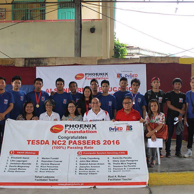 Phoenix Philippines Foundation - ALS Scholars Graduates