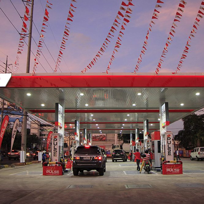 Phoenix Petroleum station in Banilad, Cebu
