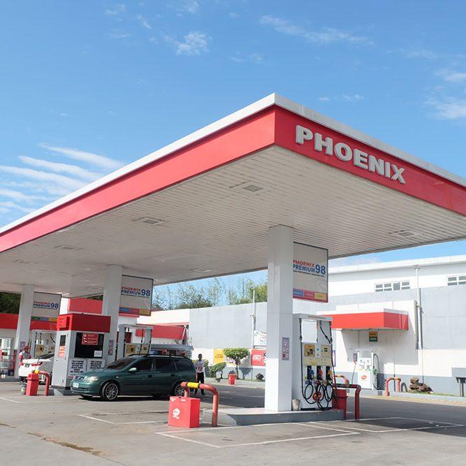 Phoenix Gas Station Sta. Rosa, Laguna
