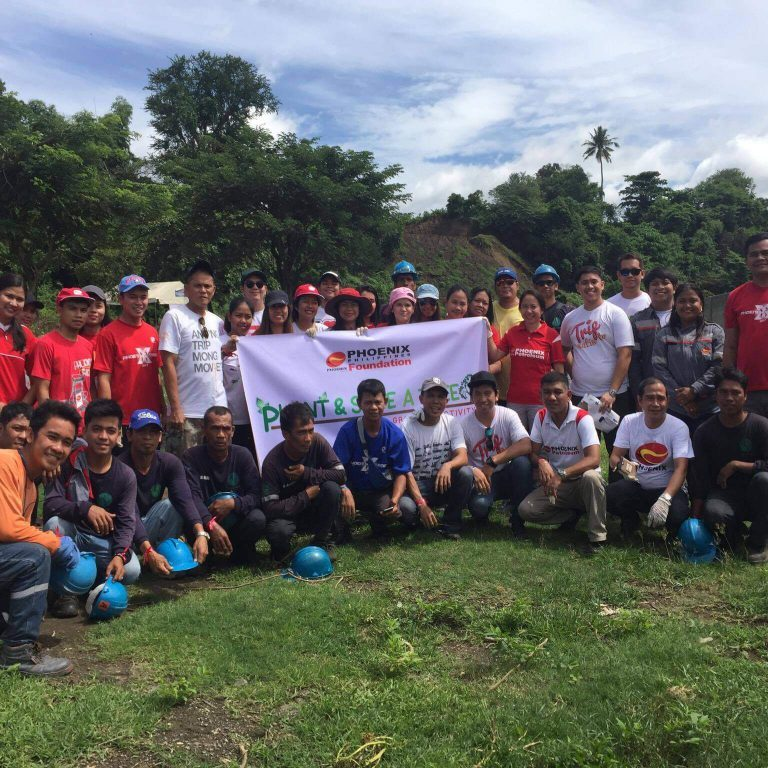 Phoenix Environment CSR - Luzon Tree Planting