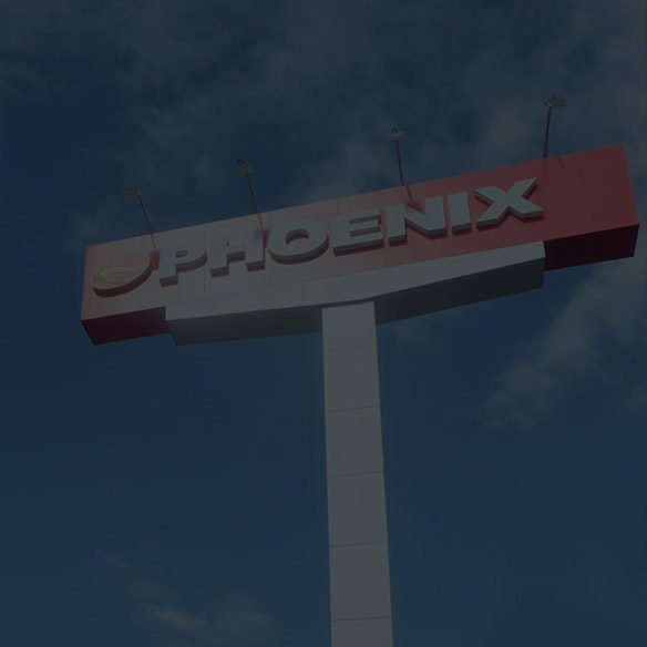 Phoenix Franchising Tower Sign